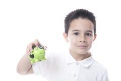 ребенок банка piggy Стоковое Изображение