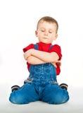 ребенок босса Стоковое Фото