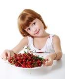 ребенок вишни Стоковое Изображение