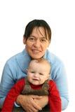 ребенок вручает держит мать Стоковая Фотография