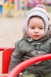 Ребенок в карусели Стоковое Фото