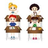 Ребенок в классе Стоковые Фото
