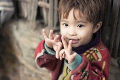 Ребенок в Мьянме стоковое изображение rf
