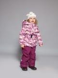 Ребенок в одеждах зимы Стоковые Фотографии RF