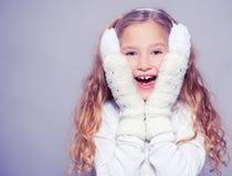 Ребенок в одеждах зимы Стоковая Фотография RF