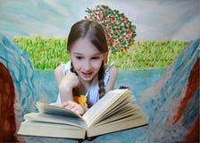 Ребенок в сказке иллюстрация штока