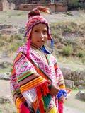 Ребенок в традиционной одежде Стоковое Изображение