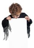 Ребенок в costume halloween Стоковая Фотография