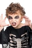 Ребенок в costume halloween Стоковое Изображение RF