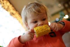 Ребенок есть мозоль удара Стоковые Фото