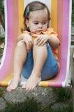 ребенок застенчивый Стоковая Фотография RF