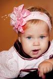 ребенок зевая Стоковые Фотографии RF