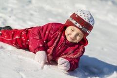 Ребенок зимы Стоковое фото RF