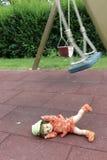 ребенок злоупотреблением сексуальный Стоковая Фотография RF