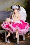 ребенок играя роль Стоковая Фотография