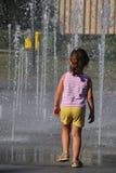 Ребенок и жара стоковое изображение