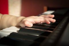 Ребенок и музыка Стоковое Изображение