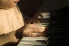 Ребенок и музыка Стоковые Фотографии RF