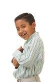 ребенок книги его влюбленности Стоковая Фотография