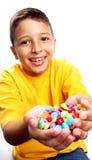 ребенок конфеты стоковые изображения