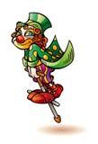 Ребенок клоуна Стоковая Фотография