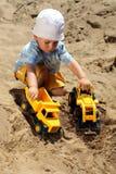 ребенок меньшяя игра Стоковые Фото