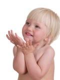 ребенок милый Стоковые Изображения