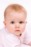 ребенок младенца меньший портрет Стоковое фото RF