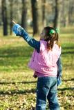 ребенок немногая смотря довольно вверх Стоковое Изображение