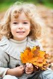 ребенок осени Стоковое Изображение RF