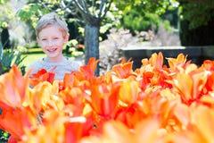 ребенок 11 осени Стоковое Фото