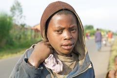 ребенок руандийский стоковое изображение rf