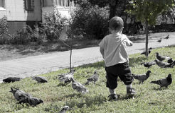 ребенок сиротливый Стоковые Фотографии RF