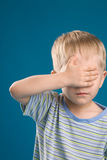 ребенок смотря не Стоковое Изображение