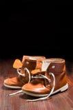 ребенок старый s ботинка Стоковые Изображения RF