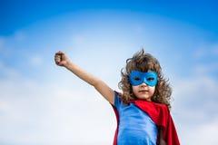 Ребенок супергероя Стоковое Фото