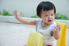ребенок счастливый Стоковые Фотографии RF