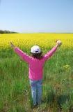 ребенок счастливый Стоковые Фото