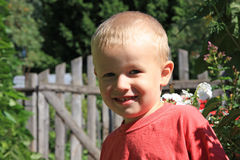 ребенок счастливый Стоковые Изображения RF