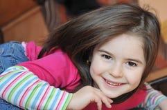ребенок счастливый Стоковые Изображения