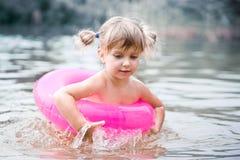 ребенок томбуя воздуха Стоковое Изображение RF