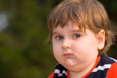 ребенок унылый Стоковая Фотография RF