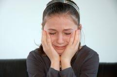 ребенок унылый Стоковые Фотографии RF
