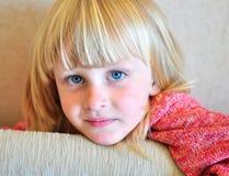 Ребенок улыбки Стоковое Изображение