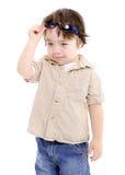 ребенок холодный Стоковая Фотография