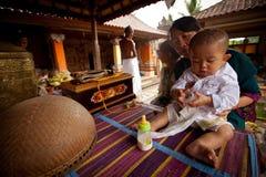 ребенок церемоний индусский Стоковые Фотографии RF