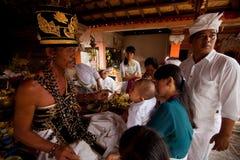 ребенок церемоний индусский Стоковая Фотография
