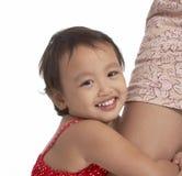 ребенок шаловливый Стоковая Фотография RF