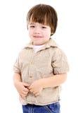 ребенок шаловливый Стоковое Изображение