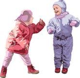 ребенок 2 Стоковые Изображения RF